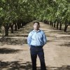 Photo - In this photo taken on June 29, 2012, Sergio Garcia poses for a photo an almond orchard in Durham, Calif., similar to one he used to work at. The California Supreme Court granted a law license on Thursday, Jan. 2, 2014, to Garcia, who is living in the United States illegally.  Garcia, who graduated from law school and passed the state bar exam, can begin practicing law despite his immigration status. He arrived in the U.S. illegally 20 years ago to pick almonds with his father. (AP Photo/San Jose Mercury News, Patrick Tehan)  MAGS OUT; NO SALES