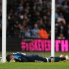 Photo - Sunderland's goalkeeper Vito Mannone reacts after a mistake that allowed Manchester City's Samir Nasri to score the equalizer during the English Premier League soccer match between Manchester City and Sunderland at The Etihad Stadium, Manchester, England, Wednesday, April  16, 2014. (AP Photo/Rui Vieira)