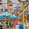 Visitors walk the midway at the Oklahoma State Fair at State Fair Park on Friday, Sept. 14, 2012, in Oklahoma City, Oklahoma. Photo by Chris Landsberger, The Oklahoman
