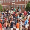 Photo - New students at Oklahoma State University take part in student orientation. Photo provided.