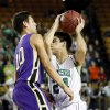 Bishop McGuinness\' Luis Lopez (24) tries to get around Chickasha\'s Dakota Goombi (10) during a Class 5A boys high school basketball game in the semifinals of the state tournament at the Mabee Center in Tulsa, Okla., Friday, March 8, 2013. Photo by Nate Billings, The Oklahoman