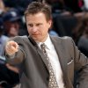 Head Coach Scott Brooks directs the Oklahoma City Thunder against Orlando during the NBA basketball game between the Orlando Magic and the Oklahoma City Thunder at the Ford Center in Oklahoma City, on Sunday, Nov. 8, 2009. The Thunder beat the Magic 102-74. By John Clanton, The Oklahoman