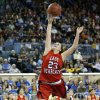 Erick\'s Shyli May shoots a lay up during the Class B girls state championship between Erick and Lomega at the State Fair Arena., Saturday, March 2, 2013. Photo by Sarah Phipps, The Oklahoman