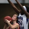 A Collinsville player (left) looks to shoot while defended by Edmond Deer Creek\'s Dakota Vann (24) during their first-round 5A girls state playoff matchup, in Catoosa, on Thursday, March 7, 2013. CORY YOUNG/Tulsa World