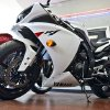 A Yamaha YZF-R1 motorcycle at Maxiey\'s Cycle. Photo by Chris Landsberger, The Oklahoman
