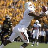 Oklahoma State\'s Joseph Randle (1) scores a touchdown during a college football game between the Oklahoma State University Cowboys (OSU) and the University of Missouri Tigers (Mizzou) at Faurot Field in Columbia, Mo., Saturday, Oct. 22, 2011. Photo by Sarah Phipps, The Oklahoman