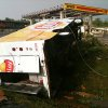 LOVE\'S TRAVEL STOP / STORM DAMAGE / INTERSTATE 40: Damage from the area of I-40 and Choctaw Road Monday May 10, 2010. Photo by Chris Landsberger, The Oklahoman ORG XMIT: KOD