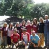 Photo - Oklahoma Christian University students pose for a picture with Ben Langford, director of the university's Center For Global Missions, at far right, during a mission trip to Tanzania, Africa. Photo provided <strong></strong>