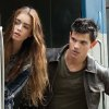 FILE - In this undated publicity film image released by Lionsgate, Taylor Lautner, right, and Lily Collins are shown in a scene from