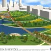 RENDERING / DRAWING: Maps 3 project- Central Park. 01_Aerial View Looking South.ai ORG XMIT: KOD