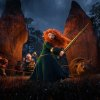 "Photo -   In this undated publicity image released by Disney/Pixar, Princess Merida, (voice by Kelly Macdonald), is shown in the 3D computer animated Disney/Pixar film, ""Brave,"" releasing June 22, 2012 in North America. Pixar's first female protagonist, Princess Merida, is determined to forge her own future. This new breed of big-screen damsel not only reflects the independence _ and athleticism _ of young women today, but also Hollywood's increasing willingness to tell their stories. (AP Photo/Disney/Pixar)"