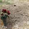 ADDS THAT TSARNAEV\'S GRAVE IS ONE OF TWO NEWLY DUG GRAVES AT THE CEMETERY - Flowers are placed on one of two newly dug graves at the Doswell, Va. cemetery where Boston Marathon bombing suspect Tamerlan Tsarnaev is buried, Friday, May 10, 2013. Ruslan Tsarni, the uncle of Tamerlan Tsarnaev, said his nephew was buried in the cemetery north of Richmond. Tsarnaev was killed April 19 in a getaway attempt after a gun battle with police. His younger brother, Dzhokhar, was captured later and remains in custody. It is unknown which grave contains Tsarnaev\'s remains. (AP Photo/Luis Alvarez)