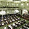 FILE -- In this Jan. 23, 2013 file photo, Gov. Jerry Brown gives his State of the State address before a joint session of the Legislature at the Capitol in Sacramento, Calif. State Sen. Lois Wolk, D-Davis and Assemblywoman Kristin Olsen, R-Modesto, have proposed indentical bills that would require all legislation to be in print and online 72 hours before it can come to a vote. Both bills would be constitutional amendments and would have to be approved by the voters. (AP Photo/Rich Pedroncelli)
