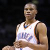 OKLAHOMA CITY THUNDER / MIAMI HEAT / NBA BASKETBALL: Oklahoma City\'s Russell Westbrook during the Thunder - Miami game January 18, 2009 in Oklahoma City. BY HUGH SCOTT, THE OKLAHOMAN ORG XMIT: KOD