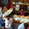 Photo - Tempting plates in Spain's tapas bars make it easy to sample new foods. (photo credit: Rick Steves)