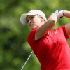 Photo - Cristie Kerr watches her tee shot on the 17th hole during second round play at the Canadian Pacific Women's Open golf tournament in London, Ontario, Friday, Aug. 22, 2014. (AP Photo/The Canadian Press, Dave Chidley)