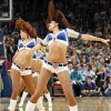 The Thunder Girls dance team performs during an NBA basketball game between the Oklahoma City Thunder and the Detroit Pistons at the OKC Arena in Oklahoma City, Friday, March 11, 2011. Photo by Nate Billings, The Oklahoman