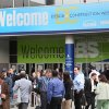 Photo - People flock to an entrance to the International Builders Show held last week in conjunction with the Kitchen & Bath Industry Show at the Las Vegas Convention Center.   Photo PROVIDED BY THE NATIONAL ASSOCIATION OF HOME BUILDERS   - PROVIDED BY THE NATIONAL ASSOCIATION OF HOME BUILDERS