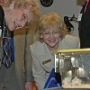 Oklahoma House Rep. Sue Tibbs, left, R-Tulsa, and Rep. Marian Cooksey, R-Edmond, take a closer look Wednesday at mice used for research at the Oklahoma Medical Research Foundation. The representatives were among a delegation of lawmakers visiting OMRF for a legislative breakfast, followed by a tour of the Donald W. Reynolds Center for Genetic Research and the OMRF Small Animal MRI. Community Photo By: Jenny Lee Submitted By: Michael, Oklahoma City