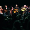 All the peformers of the Woody Guthrie Centennial Concert including Taylor Hanson, Rosanne Cash, Nora Guthrie, John Mellencamp, Arlo Guthrie, Del McCoury, Tim O\'Brien and Hanson perform