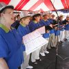The Spiritful Voices choir performs at the Paseo Arts Festival in Oklahoma City, OK, Monday, May 25, 2009. The choir will be going soon to perform at Carnegie Hall. By Paul Hellstern, The Oklahoman