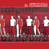 "Photo - ALBUM COVER / the SWIMMERS GRAPHIC WITH PHOTO: HIGH SCHOOL SWIMMING: All-State Prep Swimmers of the Year: Putnam City North's Parris Schoppa and Westmoore's Dakota Wheeler, from left, pose for a photo recreating the album cover for The White Stripes ""The White Stripes"" on Monday, April 13, 2009, in Oklahoma City, Okla.  Photo Illustration by Chris Landsberger, The Oklahoman"