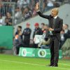 Photo - Bayern head coach Pep Guardiola of Spain reacts during the German soccer cup second round match between FC Bayern Munich and Hannover 96, in Munich, southern Germany, Wednesday, Sept. 25, 2013. (AP Photo/Kerstin Joensson)