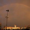 A beautiful rainbow to end a dark day of rain on Friday Community Photo By: Russel Hamm Submitted By: Russel, Oklahoma City