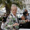 Photo -   Actor Bill Murray poses during a photo call for Moonrise Kingdom at the 65th international film festival, in Cannes, southern France, Wednesday, May 16, 2012. (AP Photo/Lionel Cironneau)