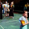 Annie Maupin performs as the group leader in the Oklahoma Children\'s Theater summer camp production of