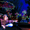 Photo - Santa Claus Land of Lights is a big family attraction. PHOTO PROVIDED BY LAKE RUDOLPH CAMPGROUND AND RV RESORT.    <strong></strong>