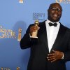 "Steve McQueen poses in the press room with the award for best motion picture - drama for ""12 Years a Slave"" at the 71st annual Golden Globe Awards at the Beverly Hilton Hotel on Sunday, Jan. 12, 2014, in Beverly Hills, Calif. (Photo by Jordan Strauss/Invision/AP)"