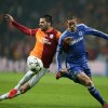 Photo - Hakan Balta of Galatasaray, left, and Fernando Torres of Chelsea fight for the ball during their Champions League Round of 16, First Leg soccer match between Galatasaray and Chelsea at Turk Telekom Arena Stadium in Istanbul, Turkey, Wednesday, Feb. 26, 2014. (AP Photo)