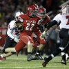 Carl Albert\'s Garrett Asher (22) runs the ball during a high school football game between Carl Albert and Claremore in Midwest City, Friday, Nov. 16, 2012. Photo by Garett Fisbeck, The Oklahoman