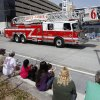 The Oklahoma City Fire Dept. led the annual Saint Patrick\'s Day Parade in downtown Oklahoma City, OK, Saturday, March 16, 2013, By Paul Hellstern, The Oklahoman