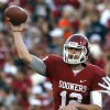 LANDRY JONES Position: Quarterback       Size: 6-4, 218 Where he will impress: With his strong arm and size, Jones looks like a prototypical NFL quarterback. He\'s seasoned from four years as a college starter, and Jones\' strong character will show during interviews. Where he will underwhelm: Decision making, throwing accuracy and pre-snap reads are all areas in which Jones sometimes struggled throughout his OU career. What he can gain at combine: Jones impressed throughout Senior Bowl practices, but struggled in the game itself. He could rise into the second round with an impressive combine showing. Current draft projection: Third/fourth round ANALYSIS BY JASON KERSEY, Staff Writer PHOTO BY SARAH PHIPPS, The Oklahoman