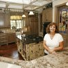 Homeowner Kathy Steffen stands in the kitchen of her home at 11916 Watermill Road in the Stonemill housing addition in Oklahoma City, OK, Thursday, July 16, 2009. By Paul Hellstern, The Oklahoman