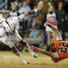 Crescent\'s Ty Heiden tries to bring down Ty Reasnor during a high school football game between Cashion and Crescent in Crescent, Okla., Thursday, Oct. 18, 2012. Photo by Bryan Terry, The Oklahoman