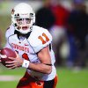 Barring injury, OSU quarterback Zac Robinson will break most of Mike Gundy\'s passing records this season. AP Archive Photo
