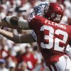 Jamell Fleming (32) blocks a pass intended for Kevin Fogler (83) during the first half of the college football game between the University of Oklahoma Sooners (OU) and the Air Force Falcons at Gaylord Family-Oklahoma Memorial Stadium on Saturday, Sept. 18, 2010, in Norman, Okla. Photo by Steve Sisney, The Oklahoman