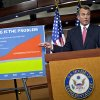 FILE – In this Dec. 13, 2012 file photo House Speaker John Boehner accuses President Barack Obama of not being serious about cutting government spending during a Capitol Hill news conference in Washington. Boehner is insisting that Obama wants far more in tax increases than spending reductions and appears willing to walk the economy