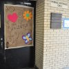 Photo -  An entrance to a dormitory where unaccompanied immigrant children are being housed at Fort Sill. The agency overseeing the children said it will phase out use of Fort Sill this week. Photo provided.   PROVIDED