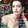 This cover image provided by Vogue shows actress Anne Hathaway on the cover of the December issue of