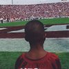 Sterling Shepard at a Sept. 23, 2000, game against Rice during which the 1985 Oklahoma championship team was honored. Sterling\'s father, Derrick Shepard, played on the 1985 team. PHOTO PROVIDED