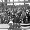 FILE - In this Oct. 4, 1924, file photo, U.S. President Calvin Coolidge throws out the ball for the opening game of the 1924 World Series between the Washington Senators and the New York Giants in Washington. The Senators stormed to the top of the league the year after a losing season, had a star pitcher who was the subject of intense national discussion, and won praise from Coolidge for their performance. Like this year\'s Washington Nationals, the 1924 World Series champion Senators generated excitement in a city starved for a baseball winner. The Nationals will begin their quest for the city\'s second championship when the team\'s playoff series begins Sunday. (AP Photo/File)