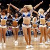 The Thunder Girls dance team performs during the NBA basketball game between the Oklahoma City Thunder and the Dallas Mavericks at Chesapeake Energy Arena in Oklahoma City, Monday, March 5, 2012. Photo by Nate Billings, The Oklahoman