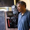 "Photo -   This film image released by 20th Century Fox shows director Ang Lee on the set of ""Life of Pi."" (AP Photo/20th Century Fox)"