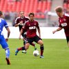 Photo - Nuremberg's  Hiroshi Kiyotake  plays the ball during the German Bundesliga soccer match between 1. FC Nuremberg and Hertha BSC Berlin in Nuremberg, Germany, Sunday Aug. 18, 2013.  (AP Photo/dpa,David Ebener)