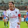 Photo - AC Milan midfielder Riccardo Montolivo celebrates after scoring during the Serie A soccer match between Catania and AC Milan at the Angelo Massimino stadium in Catania, Italy, Sunday, Dec. 1, 2013. (AP Photo/Carmelo Imbesi)