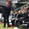 Photo - Ajax coach Frank de Boer reacts during the match between Heracles and Ajax at Polman stadium in Almelo, Netherlands, Sunday, April 27, 2014. (AP Photo/Vincent Jannink)